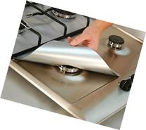 Cooks Innovations Non-Stick Gas Range Protectors - Silver -