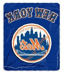 Northwest NOR-1MLB031010019RET 50 x 60 in. New York Mets MLB