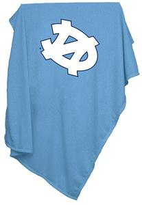 NCAA North Carolina Tar Heels Sweatshirt Blanket, Blue
