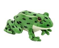 Wild Republic Northern Leopard Frog Watch Childrens Plush
