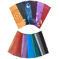 Aurorae Printed 5mm Thick Yoga Mat with Free Non Slip Rosin