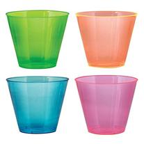 Party Essentials Hard Plastic 9-Ounce Party Cups/Old