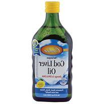 Carlson Cod Liver Oil Lemon 500ml