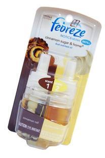 Febreze Noticeables Dual Scented Oil Air Fresheners Cinnamon