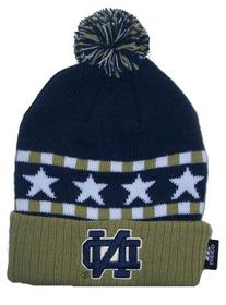 Notre Dame Fighting Irish Kids 4 - 7 Knit Beanie Hat Cap