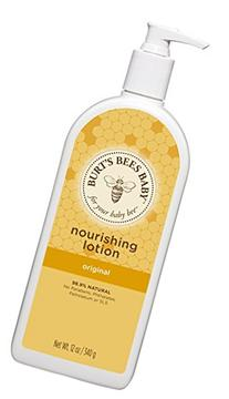 Burt's Bees Baby Nourishing Lotion, Original, 12 Ounces