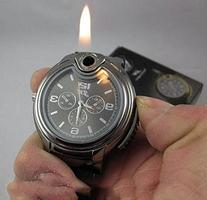 Novelty Collectible Watch Cigarette Butane Lighter - One