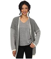 BCBGeneration Women's Novelty Open Stitch Front Cardigan