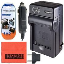 DMW-BMB9 Battery Charger for Panasonic Lumix DMC-FZ40K DMC-