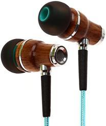 Symphonized NRG 2.0 Wood In-ear Noise-Isolating Headphones