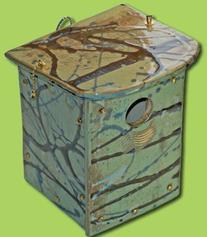 Amaranth Stoneware NS ORC G Nest Box - Orchard Green