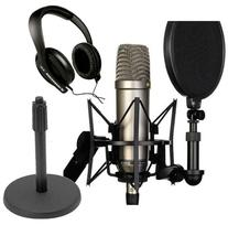 Microphone Recording Package: Rode NT1-A Cardioid Condenser
