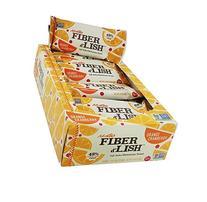 NuGo Fiber d'Lish Bars - Orange Cranberry - 1.6 oz - 16 ct
