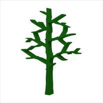 Nursery Works Tree Bookcase- Green