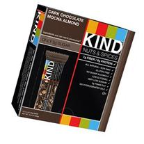 KIND Nuts and Spices Bar, Dark Chocolate Mocha Almond, 1.4