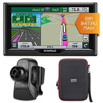 "Garmin nuvi 67LM 6"" Essential Series 2015 GPS w Lifetime"