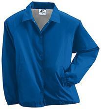 Augusta Sportswear MEN'S NYLON COACH'S JACKET/LINED M Royal