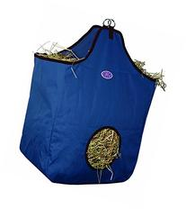Derby Originals Nylon Hay Bags Large with D Ring, Navy/
