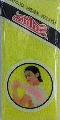 SALUX Nylon Japanese Beauty Skin Bath Wash cloth Towel
