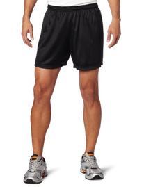 Soffe Men's Nylon Mini-Mesh Short Black X-Large