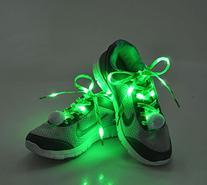 Flammi LED Nylon Shoelaces Light Up Shoe Laces with 3 Modes