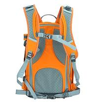 BESTEK CADEN Waterproof Nylon Camera Backpack, Orange
