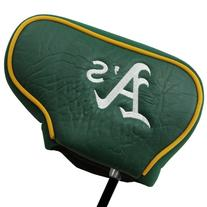 Oakland Athletics Blade Putter Cover - Green