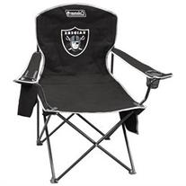 Oakland Raiders Official NFL XL Cooler Quad Chair by Jarden