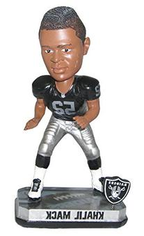 NFL Oakland Raiders Mack K. # 2014 Springy Logo Base Bobble