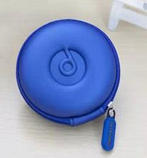 Domire Ocean Blue PU Leather Earphone Hard Case/bag