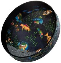 "Remo Ocean Drum, Fish Heads 2.5"" x 16"
