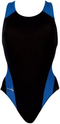 Dolfin Swimwear Ocean Panel Performance Back - Black/Royal,