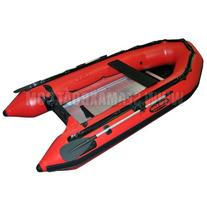 Seamax Heavy Duty Ocean320 Red 10.5ft Inflatable Boat with
