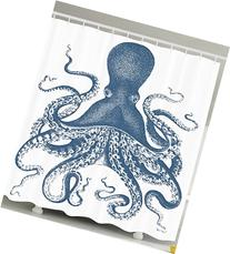 Ambesonne Kraken Shower Curtain Octopus Decor by for Baby,