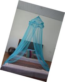 Octorose ® Ribbon Bed Canopy Mosquito Net for All Size Bed