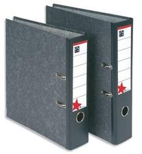 5 Star  Office Lever Arch File 70mm A4 Cloudy Grey