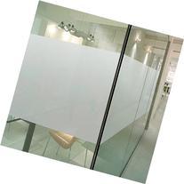 Coavas Office Window Film Privacy Window Film Non-Adhesive