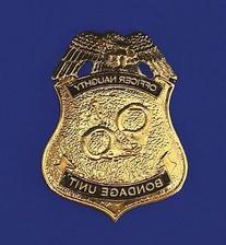 Officer Naughty Badge