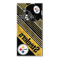 NFL Pittsburgh Steelers Beach Towel, 28-inch by 58-inch