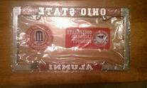 Ohio State Buckeyes Alumni Metal License Plate Frame -