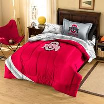 NCAA Ohio State Buckeyes Twin Bedding Set