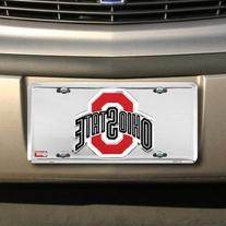 OHIO STATE BUCKEYES Super Stock Metal License Plate 6 x 12