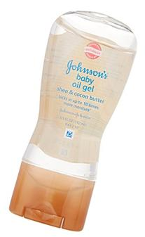 Johnson's Baby Oil Gel Shea and Cocoa Butter 6.5 ounces