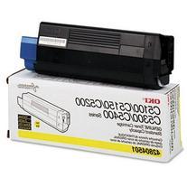 Okidata 42804501 Toner Cartridge, Laser, Type C6, 3000 Page