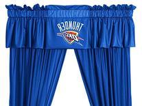 NBA Oklahoma City Thunder Drape Window Valance Set