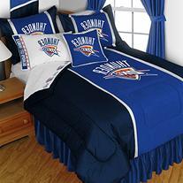 NBA Oklahoma City Thunder Queen Comforter Set Basketball Bed