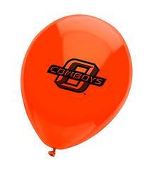 Pioneer Balloon Company 10 Count Oklahoma State Latex