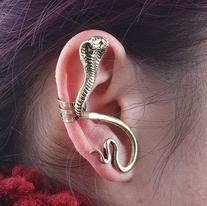 JADE Olines Fans Charms Accessories Golden Left Ear Cobra