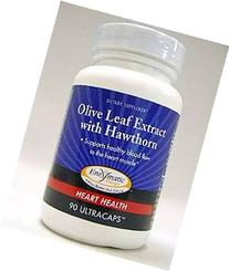 Enzymatic Therapy Olive Leaf Extract with Hawthorn -- 90