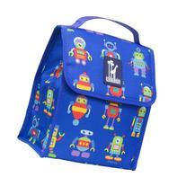 Olive Kids Robots Munch 'n Lunch Bag